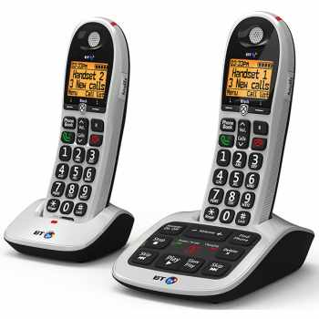 British BT BT4600TW Big Button DECT Phone With Call Gua