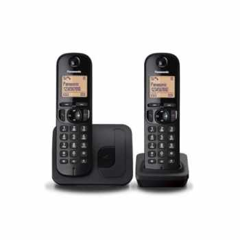 Panasonic KXTGC212EB Basic Cordless Telephone (Twin)